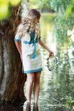 Ivan Kupala flicka Royaltyfri Fotografi