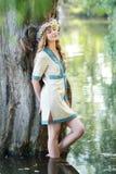 Ivan Kupala girl Stock Image