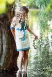 Ivan Kupala girl Royalty Free Stock Photography