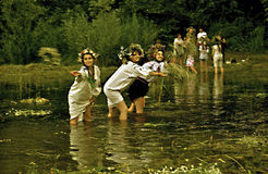 On Ivan Kupala Stock Photo