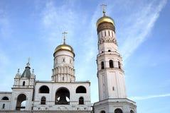 Ivan la gran torre de Bell Moscú Kremlin Herencia de la UNESCO Fotos de archivo libres de regalías