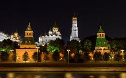 Ivan las grandes catedrales del campanario, del arcángel y del anuncio foto de archivo libre de regalías