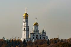 Ivan le grand beffroi de tour de cloche de Moscou Kremlin images stock