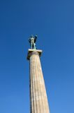Ivan Meštrović's Pobednik Statue of Victor in Belgrade Fortress area Serbia Stock Photography