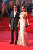 Ivan Nikolaev på Moskvafilmfestivalen Royaltyfria Bilder