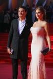 Ivan Nikolaev på Moskvafilmfestivalen Royaltyfri Fotografi