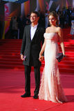 Ivan Nikolaev på Moskvafilmfestivalen Royaltyfri Foto