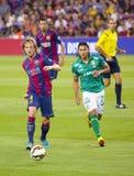 Ivan Rakitic do FC Barcelona Imagem de Stock Royalty Free