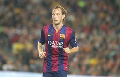IVAN RAKITIC FC BARCELONE Fotos de Stock Royalty Free
