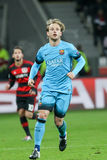 Ivan Rakitic during the UEFA Champions League game between Bayer Royalty Free Stock Image