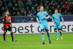 Ivan Rakitic during the UEFA Champions League game between Bayer Stock Photography