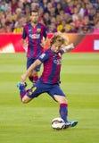 Ivan Rakitic von FC Barcelona Lizenzfreies Stockbild