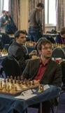 Ivan Salgado and Ivan Cheparinov Stock Photos
