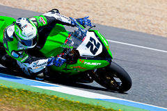 Ivan Silva pilot of Stock Extreme of the CEV Royalty Free Stock Images