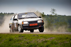 Ivan Smirnov on Lada at Russian Stock Photo