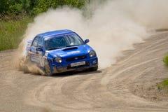 Ivan Smirnov on Subaru at Russia Royalty Free Stock Image