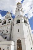 Ivan storen, ärkeängel domkyrka, Kremlin Arkivbild