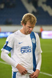 Ivan Strinic after the match Stock Image