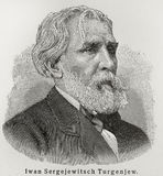Ivan Turgenev Royalty Free Stock Photos