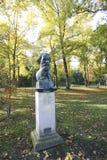 Ivan Turgenev in baden-Baden, Duitsland  Royalty-vrije Stock Afbeeldingen