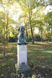 Ivan Turgenev dans Baden-Baden, Allemagne  Images libres de droits