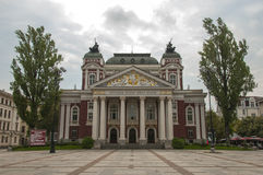 Ivan Vazov National Theater in Sofia, Bulgaria Stock Images