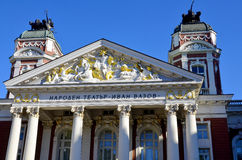 The Ivan Vazov National Theatre Royalty Free Stock Photography