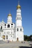 Ivan Wielki Dzwonkowy lata Moskwa upał Zdjęcie Royalty Free