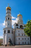 Ivan Wielki Dzwonkowy wierza przy Moskwa Kremlin Fotografia Royalty Free