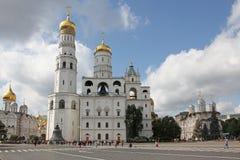 Ivan Wielki Dzwonkowy wierza w Kremlin moscow Rosja Fotografia Stock