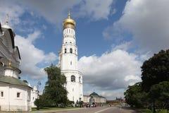 Ivan Wielki Dzwonkowy wierza w Kremlin moscow Rosja Zdjęcia Stock