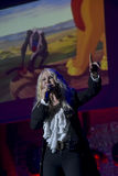 Ivana Spagna live. In teatro Bologna 2016 Stock Images