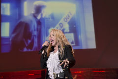Ivana Spagna live. In teatro Bologna 2016 Royalty Free Stock Images