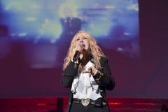 Ivana Spagna live. In teatro Bologna 2016 Stock Photo