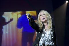 Ivana Spagna live Royalty Free Stock Images