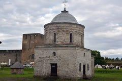 Ivangorod堡垒 图库摄影