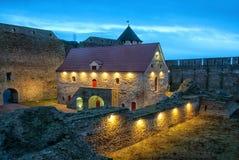 Ivangorod 俄国 博物馆在中世纪Ivangorod堡垒 库存图片
