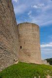 Ivangorod Festung Stockfotografie
