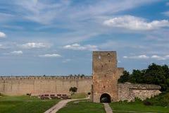 Ivangorod Festung Stockbilder