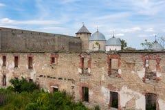 Ivangorod Festung Stockfoto