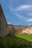 Ivangorod Festung Stockbild
