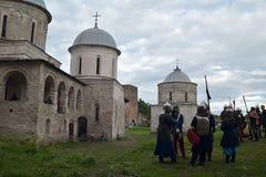 Ivangorod Forteca Zdjęcia Royalty Free