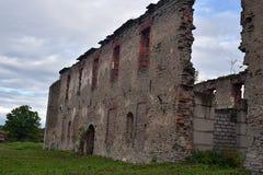 Ivangorod Forteca Zdjęcia Stock