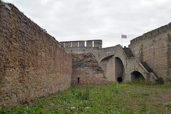 Ivangorod Forteca Obrazy Royalty Free