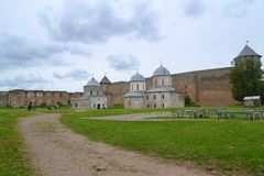 Ivangorod Fortress Stock Photos