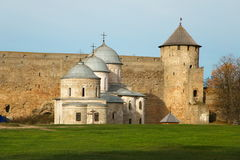 Ivangorod fortress Stock Images