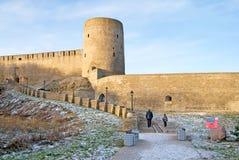 Ivangorod. Russia. Ivangorod Fortress Royalty Free Stock Photo