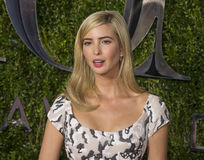 Ivanka Trump at 2015 Tony Awards. Ivanka Trump arrives on the red carpet for the 69th Annual Tony Awards at Radio City Music Hall in New York City on June 7 Stock Photo