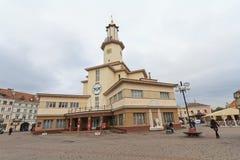 Ivano-Frankivs, Ουκρανία - 17 Οκτωβρίου 2015: Δημαρχείο ivano-Frankivsk Στοκ εικόνες με δικαίωμα ελεύθερης χρήσης