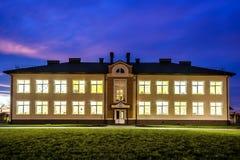 Ivano-Frankivsk, Ucrania - 22 de diciembre de 2017: Nuevo buildin moderno Imagenes de archivo